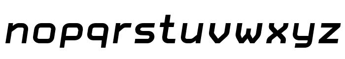 CarbonBold Italic W00 Regular Font LOWERCASE