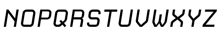 CarbonRegular Italic W00 Rg Font UPPERCASE