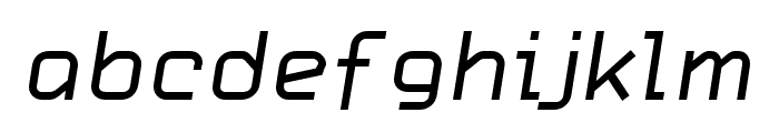 CarbonRegular Italic W00 Rg Font LOWERCASE