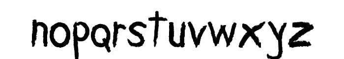 Carbonica Font LOWERCASE