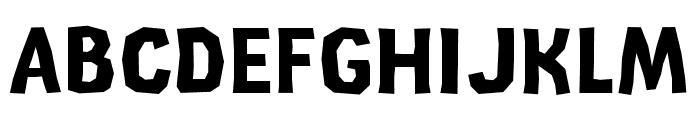 CardboardCat Bold Font UPPERCASE