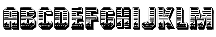 Cardiff Font LOWERCASE