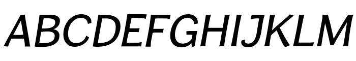CardiganTitlingRg-Italic Font UPPERCASE