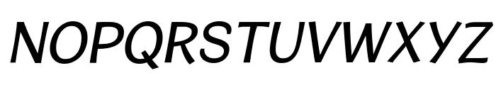 CardiganTitlingRg-Italic Font LOWERCASE