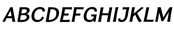 CardiganTitlingSb-Italic Font UPPERCASE