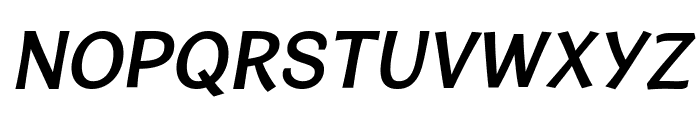 CardiganTitlingSb-Italic Font LOWERCASE