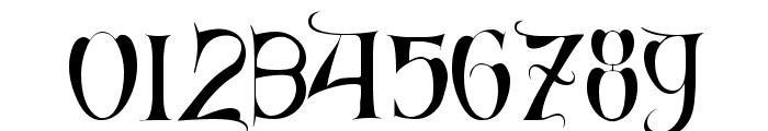 Cardinal Regular Font OTHER CHARS