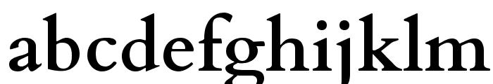 Cardo Bold Font LOWERCASE