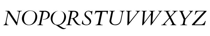 Cardo Italic Font UPPERCASE