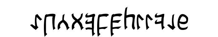 Cardosan Font LOWERCASE