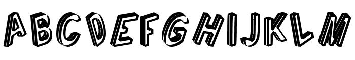 Cargante tfb Font UPPERCASE