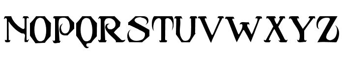 Caribbean Caps Font UPPERCASE