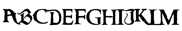 Caribbean Regular Font UPPERCASE
