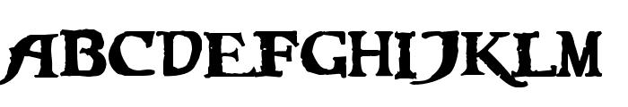 Caribbean Regular Font LOWERCASE