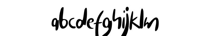Carista Font LOWERCASE
