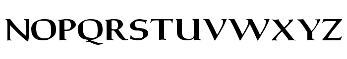 Carita Bold Font UPPERCASE