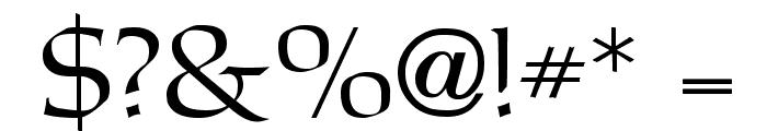 Carita Font OTHER CHARS
