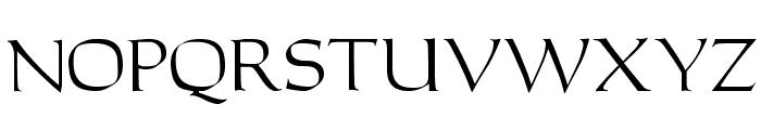 Carita Font UPPERCASE