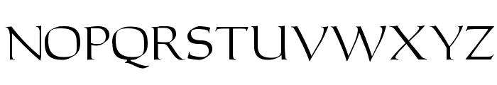 Carleton Font UPPERCASE