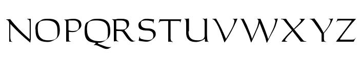 Carleton Font LOWERCASE