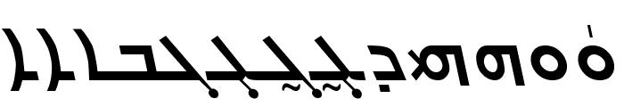 Carlo Ator Bold Italic Font UPPERCASE