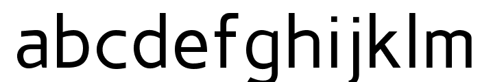 Carme Regular Font LOWERCASE