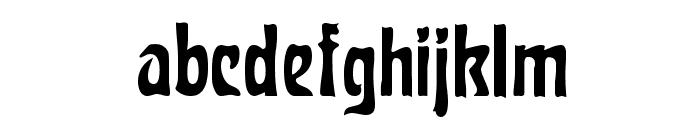 Carmen Regular Font LOWERCASE
