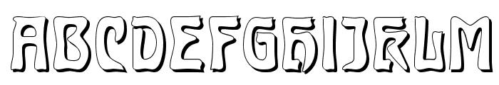 Carmen Shadow Font UPPERCASE