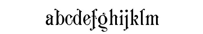 Carmen Font LOWERCASE