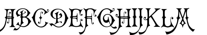 Carmencita Font UPPERCASE