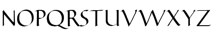 Carmenta Font UPPERCASE