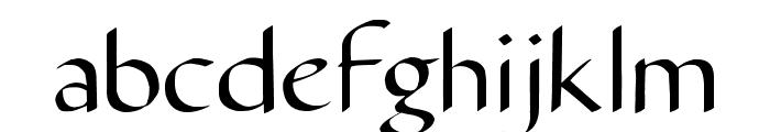Carmenta Font LOWERCASE