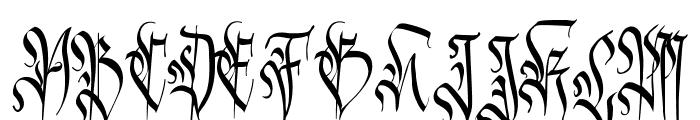 Carmilia-Free Font UPPERCASE