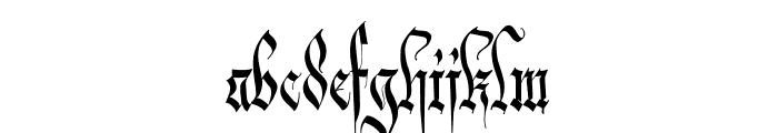 Carmilia-Free Font LOWERCASE