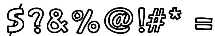 Carnetdevoyage Font OTHER CHARS