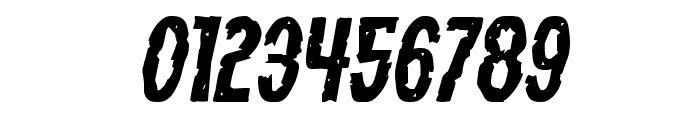 Carnival Corpse Expanded Italic Font OTHER CHARS