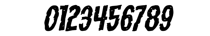 Carnival Corpse Expanded Rotalic Font OTHER CHARS