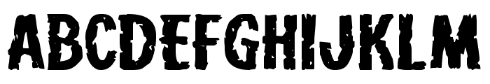 Carnival Corpse Extra-Expanded Font UPPERCASE