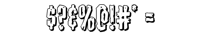 Carnival Corpse Shadow Font OTHER CHARS