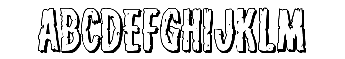 Carnival Corpse Shadow Font UPPERCASE