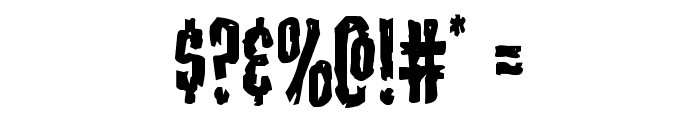 Carnival Corpse Font OTHER CHARS