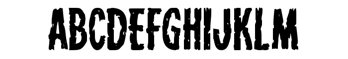 Carnival Corpse Font UPPERCASE