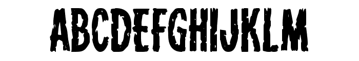Carnival Corpse Font LOWERCASE