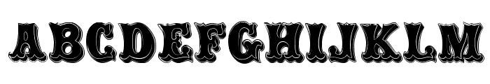 Carnival Rimmed Font UPPERCASE