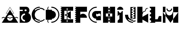 Carnivale Font LOWERCASE