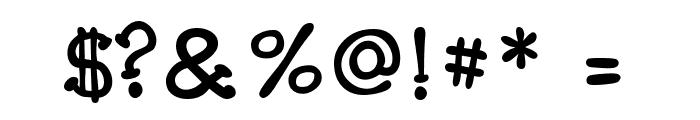 Carogna Font OTHER CHARS