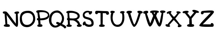 Carogna Font UPPERCASE
