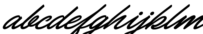Carolina Hills Personal Use Font LOWERCASE