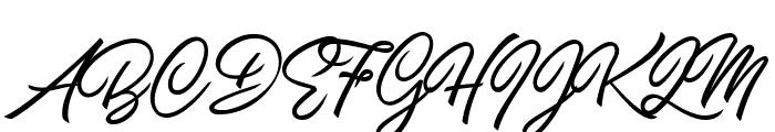Carolina Mountains Personal Use Font UPPERCASE