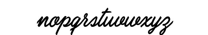 Carolina Mountains Personal Use Font LOWERCASE